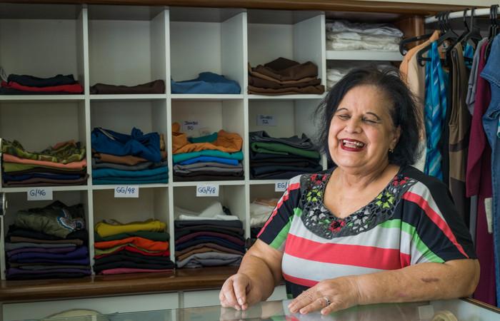 """Ladejane decreta: """"Deus me livre ir para o shopping"""". Foto: Camila Pifano/Esp. DP"""