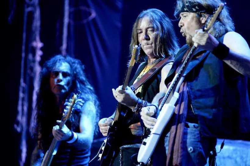 Iron Maiden é a principal atração do dia do metal no Rock in Rio. Foto: Carlos Vieira/CB/D.A Press