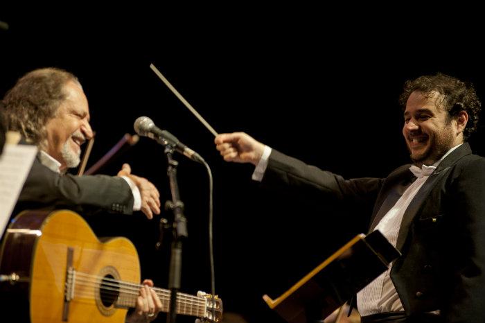 O projeto tem regência do maestro Rodrigo Toffolo, da Orquestra Ouro Preto. Foto: Naty Torres/Divulgação