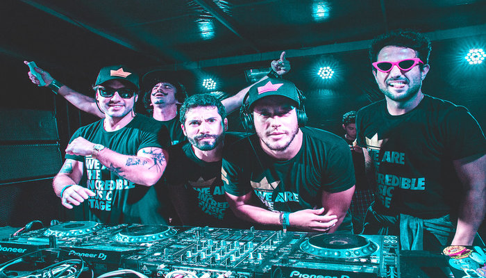 O festejo traz na programação um coletivo batizado de Esbórnia Music Stage, formado por seis DJs. Foto: Clóvis Gomis