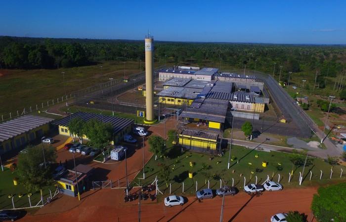Fuga aconteceu no presídio Barra da Grota. Foto: Seciju/Divulgação