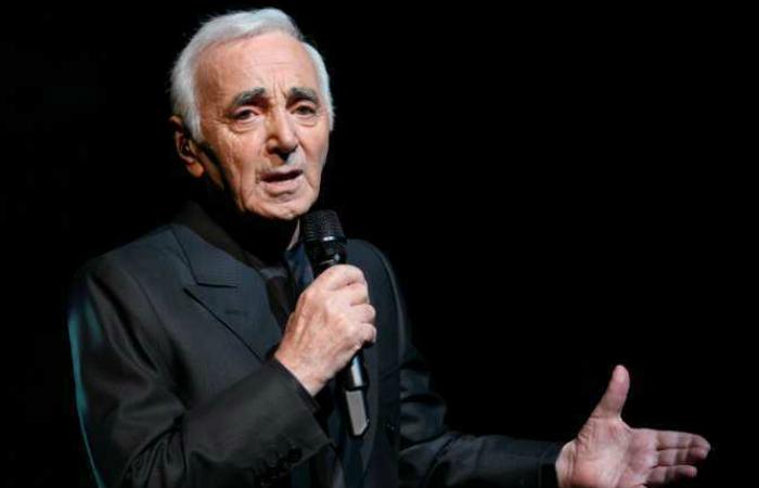 Aznavour morreu depois de uma falha cardiorrespiratória em sua casa. Foto: AFP
