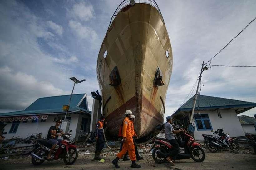 As equipes de resgate recuperaram 1.763 corpos desde a tragédia de 28 de setembro. Foto: MOHD RASFAN/AFP