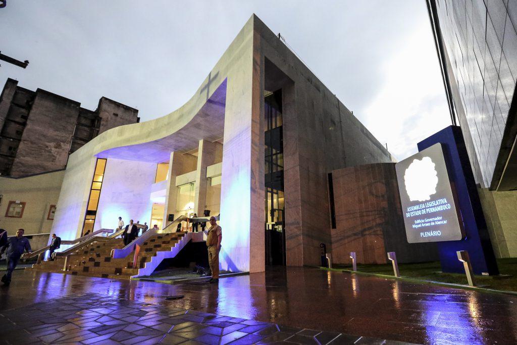 Novo prédio sede da Alepe, na Rua da União, Centro do Recife. Foto: Rinaldo Marques/Alepe