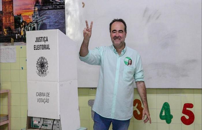 Candidato foi apenas o terceiro lugar em Petrolina. Foto: Raquel Elblaus/Divulgação