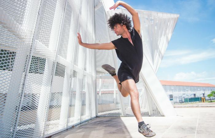Bailarino e designer de moda André Aguiar é o idealizador do evento. Foto: Rayanne Morais/Divulgação