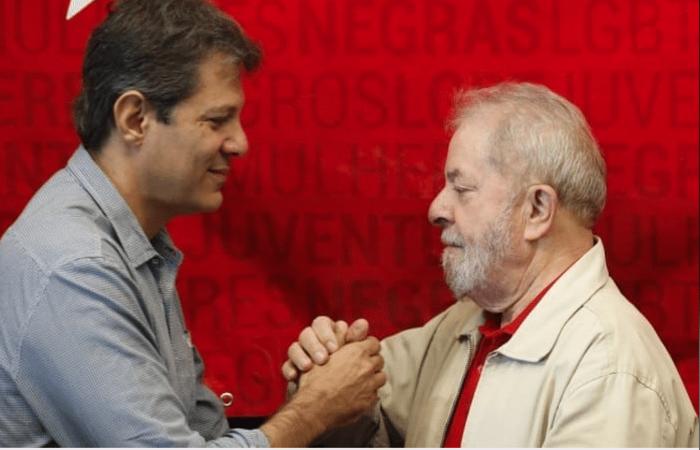 Resultado de imagem para Jamais vou deixar de defender que Lula foi condenado sem provas, diz Haddad