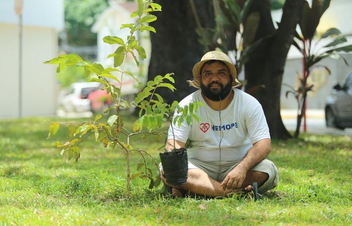 Bruno Lopes, 32 anos, teve a iniciativa há dois anos. Foto: Camila Pifano/Esp. DP.