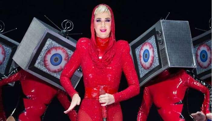 O último trabalho de Katy Perry foi o disco Witness, lançado em 2017. Foto: AFP/Suzanne Cordeiro