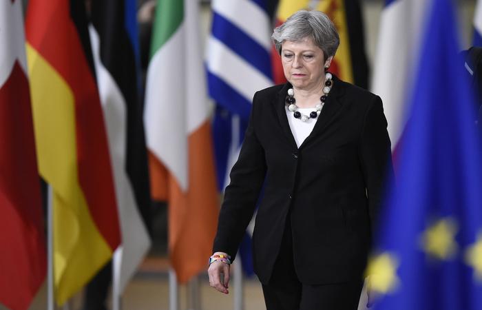 Primeira-ministra da Inglaterra, Theresa May - Foto: John Thys/AFP Photo