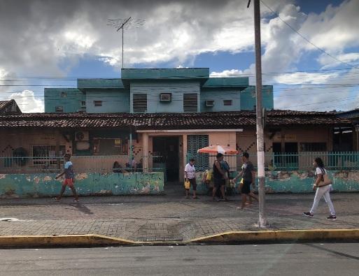 Crime aconteceu no posto de médico Manoel Gomes, no centro do Cabo. Foto: Google Maps/Reprodução.