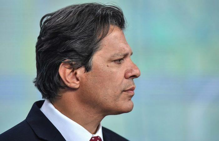 O candidato do PT, Fernando Haddad. Foto: Nelson Almeida/AFP (Foto: Nelson Almeida/AFP)