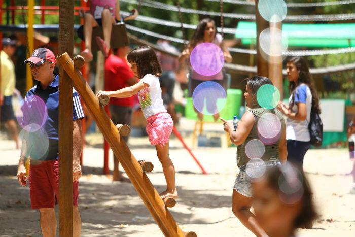 No Parque da Jaqueira, adultos e crianças poderão acompanhar histórias cantaroladas. Foto: Peu Ricardo/DP.