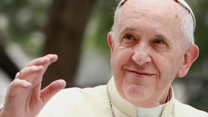 """""""Declaramos e consideramos santos Paulo VI e Óscar Arnulfo Romero Galdámez"""", afirmou o papa Francisco. Foto: Divulgação."""