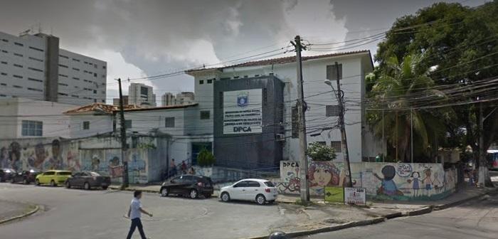 Delegado Ademir Oliveira vai revelar no DPCA detalhes da trama que envolveu adolescentes em denunciação caluniosa. Imagem: Google Street View (Set2017)