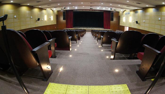 Cineteatro Samuel Campelo, completamente reformado, será palco de diversas apresentações teatrais. Foto: Chico Bezerra/PJG
