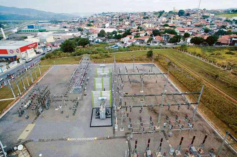 Subestação de Limeira, da Elektro: as distribuidoras da Neoenergia atendem cerca de 34 milhões de pessoa. Foto: Elektro/Divulgação