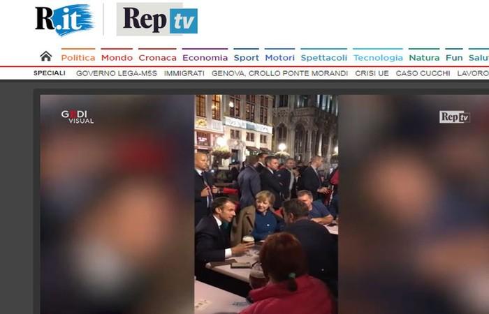 Foto: Reprodução/Repubblica.it (Foto: Reprodução/Repubblica.it)