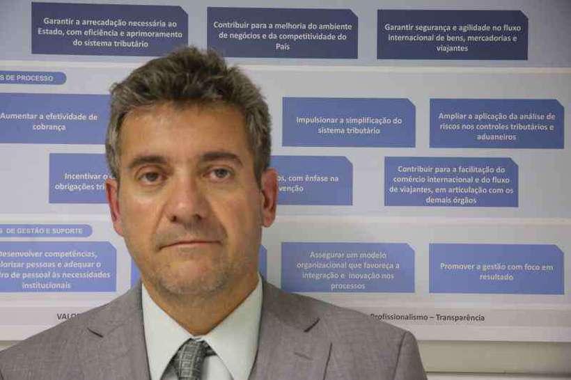Segundo João Paulo Silva, será criado um ranking com o histórico de pagamento de impostos pelas empresas. Foto: Receita Federal/Divulgação