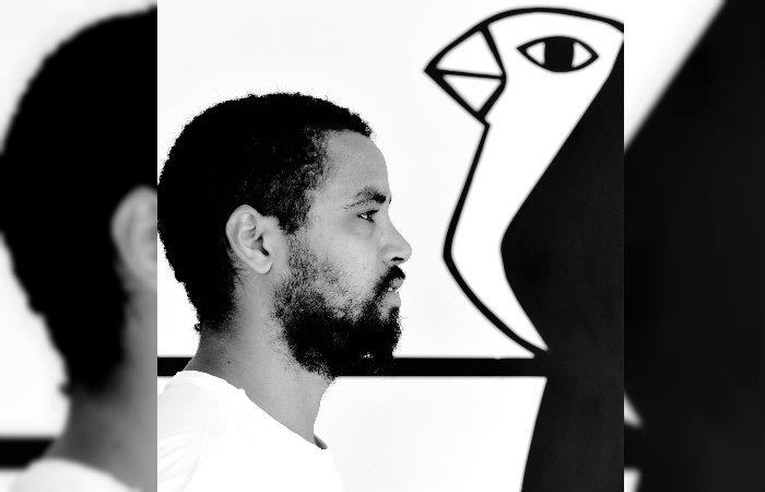 Trabalho é inspirado em padrões estéticos da xilogravura popular adotados nos grafites. Foto: Ana Migliari/divulgação