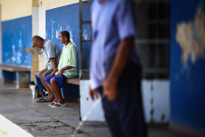 O Hospital Colônia Vicente Gomes de Matos, em Barreiros, tem 75 homens de longa permanência que foram abandonados pelas famílias. Foto: Peu Ricardo/DP