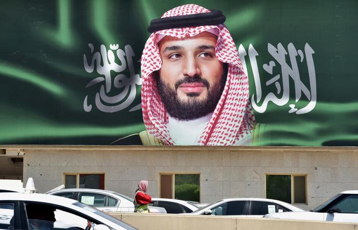 O príncipe herdeiro saudita Mohammed bin Salman estaria envolvido no suposto assassinato do jornalista Jamal Khashoggi. Foto: FAYEZ NURELDINE / AFP