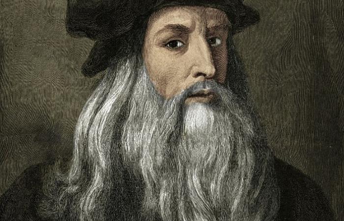 Autorretrato de Da Vinci - Foto: Reprodução da internet