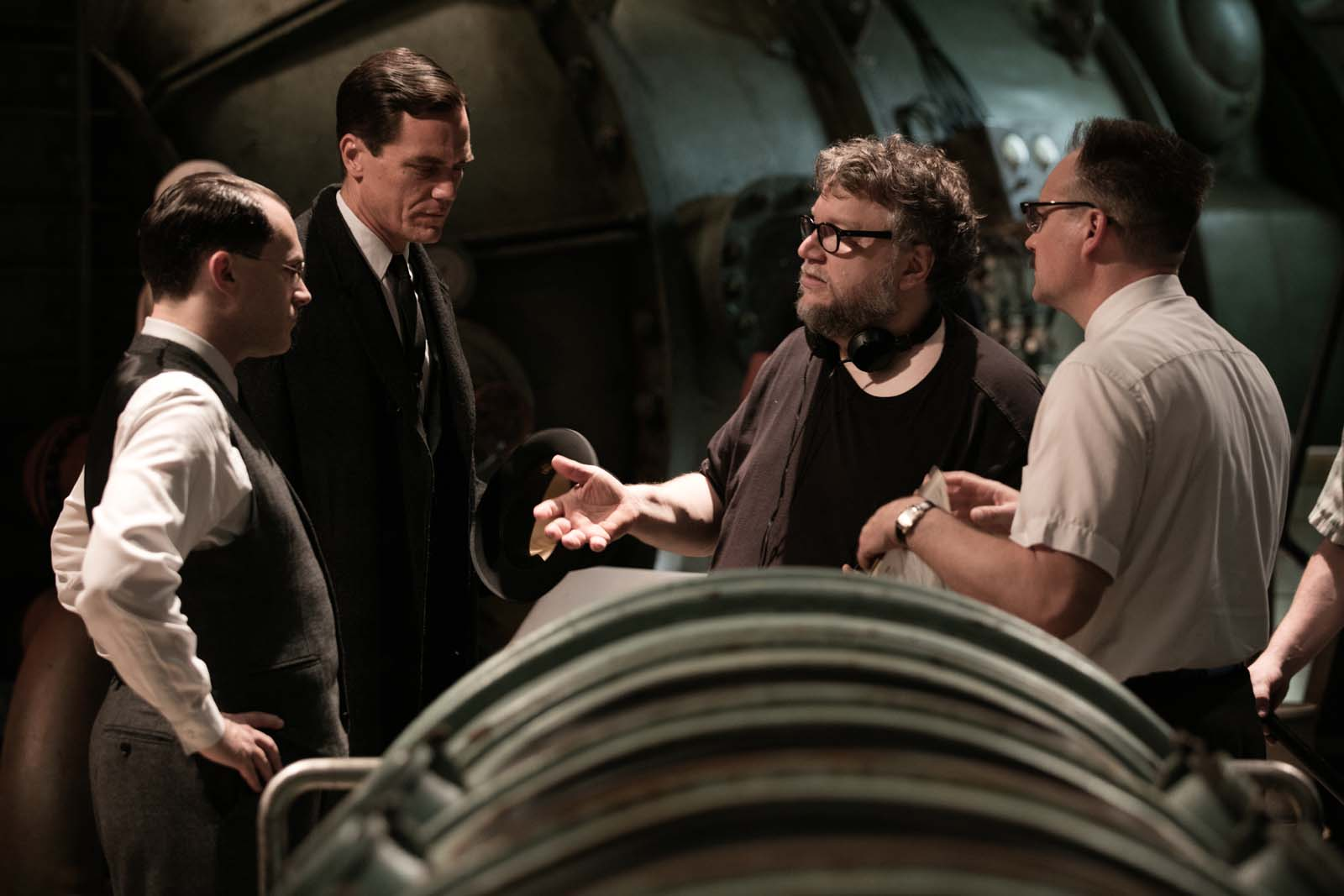 Diretor nos bastidores do filme A Forma da Água. Foto: Century Fox/Divulgação