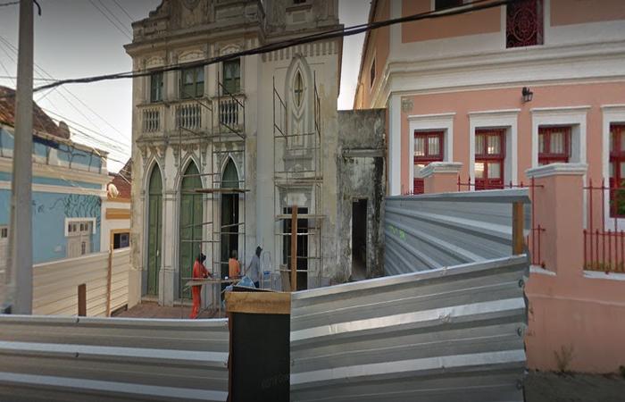 As reformas foram aprovadas e elaboradas pela Secretaria de Patrimônio e Cultura de Olinda e o Instituto do Patrimônio Histórico e Artístico Nacional. Foto: Reprodução/Google Maps