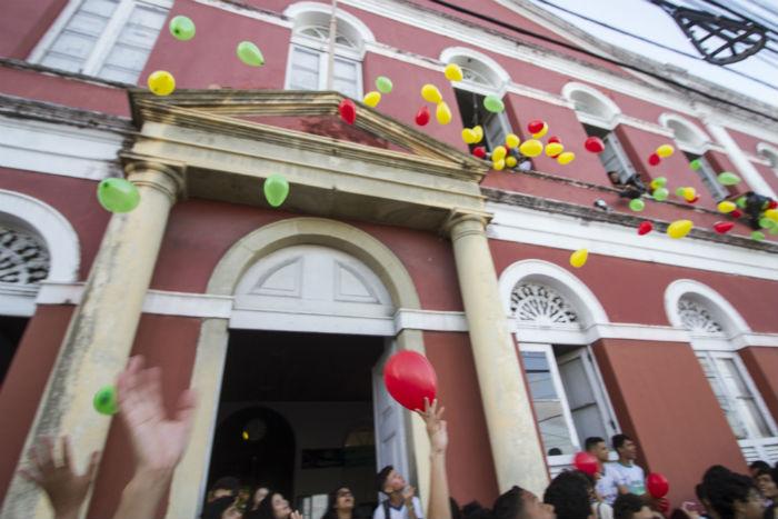 Ginásio Pernambucano é unidade de referência e comemorou pioneirismo em outubro deste ano. Foto: Léo Malafaia/Esp. DP.