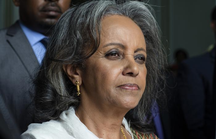 Sahle-Work Zewde trabalhava como representante especial na União Africana (UA) do secretário-geral da ONU. Foto: EDUARDO SOTERAS / AFP