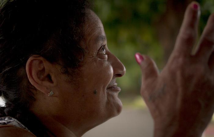 Elizabete vivia da venda de recicláveis quando foi detida por força de um mandado de prisão. Imagem: Léo Malafaia/Esp DP