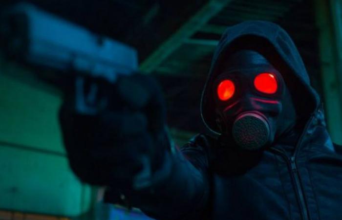 No filme dirigido por Gustavo Bonafé, empresários e políticos serão caçado; Foto: O Doutrinador/Divulgação