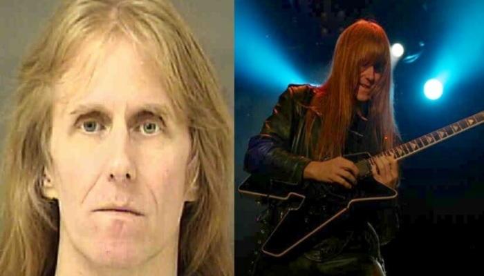 A banda se pronunciou a respeito e disse que o guitarrista está fora das próximas apresentações. Foto: Polícia de Charlotte/Wikimedia Commons
