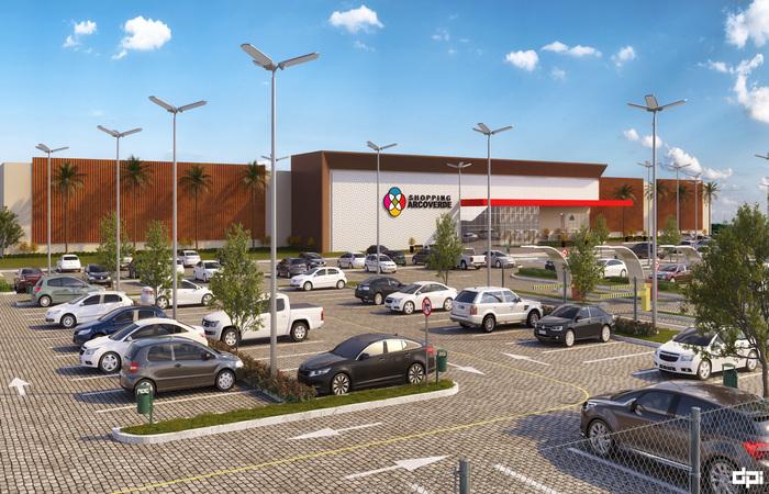 Quando em plena operação, centro de compras deve gerar mil vagas de empregos, entre diretos e indiretos. Foto: GR Shopping/Divulgação  (Foto: GR Shopping/Divulgação )