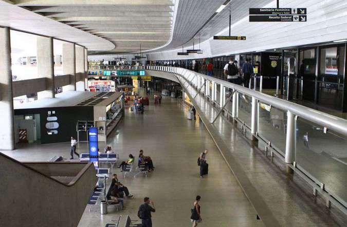 Aeroporto de Confins. Foto: Rodrigo Clemente/EM/D.A Press