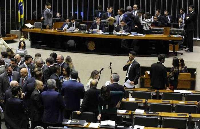 De nanico a gigante em poucos meses, o PSL termina 2018 com 52 deputados e quatro senadores eleitos (foto: Luis Macedo/Câmara dos Deputados)
