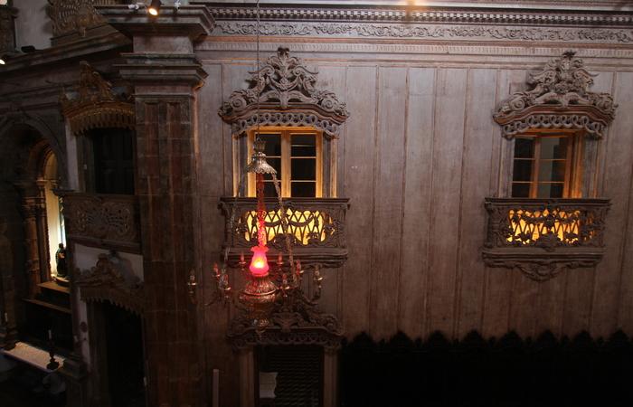 Apenas os ornatos em alto-relevo terão douramento. Foto: Peu Ricardo/DP