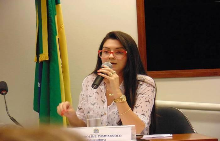 Ana Caroline Campagnolo - Foto: Divulgação/Congresso Nacional
