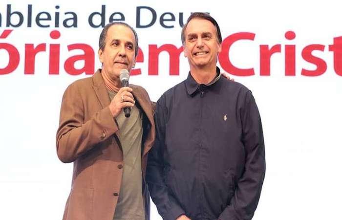 Sobre a eleição, Bolsonaro afirmou que Malafaia não foi o único que duvidou de sua candidatura a presidente (foto: Assembleia de Deus Vitória em Cristo/Divulgação)