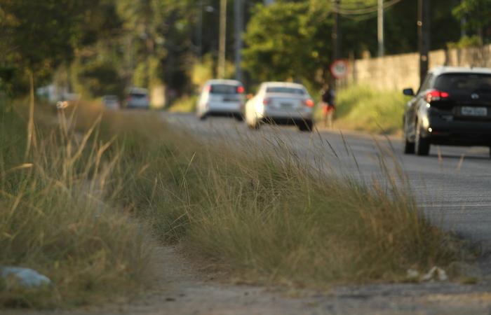 Falta de calçadas está entre os principais problemas da via de 18 km. Foto: Peu Ricardo/DP