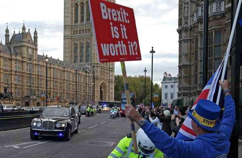 As negociações do Brexit se arrastam desde junho de 2017 e dividiu opiniões. Foto: Daniel LEAL-OLIVAS / AFP