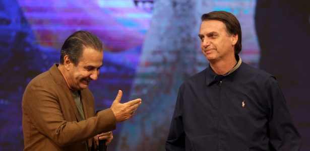 Jair Bolsonaro teve o apoio do pastor Silas Mafaia durante a campanha eleitoral (Foto: Wilton Júnior / Agência Estado)