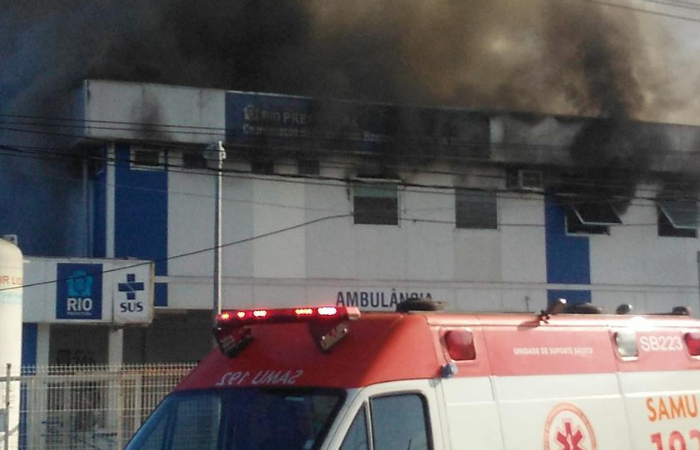 Hospital Lourenço Jorge fica na Barra da Tijuca, Zona Oeste da cidade do Rio (Foto: Reprodução / Twitter )