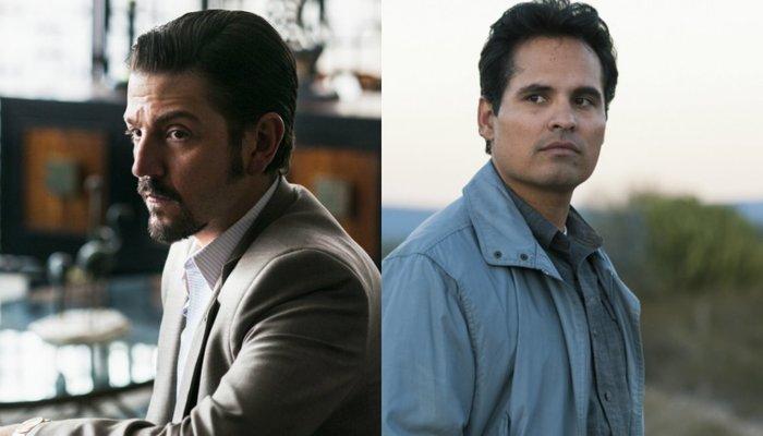 Os atores mexicanos Tenoch Huerta, José Maria Yazpik, Tessa Ia e Joaquín Cosío estão no elenco da série. Foto: Netflix/Divulgação