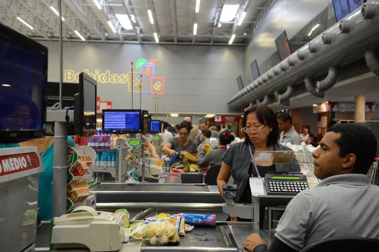 Índice de Preços ao Consumidor-Classe 1 acumula inflação de 4,09% no ano e de 4,28% nos últimos 12 meses. Foto: Arquivo/Tânia Rêgo/Agência Brasil