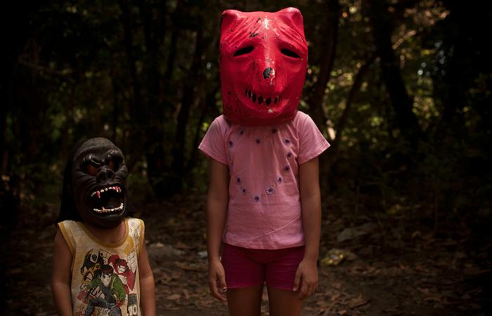A exposição traz fotos que misturam o mundo real e o imaginário. Foto: Mateus Sá/Divulgação