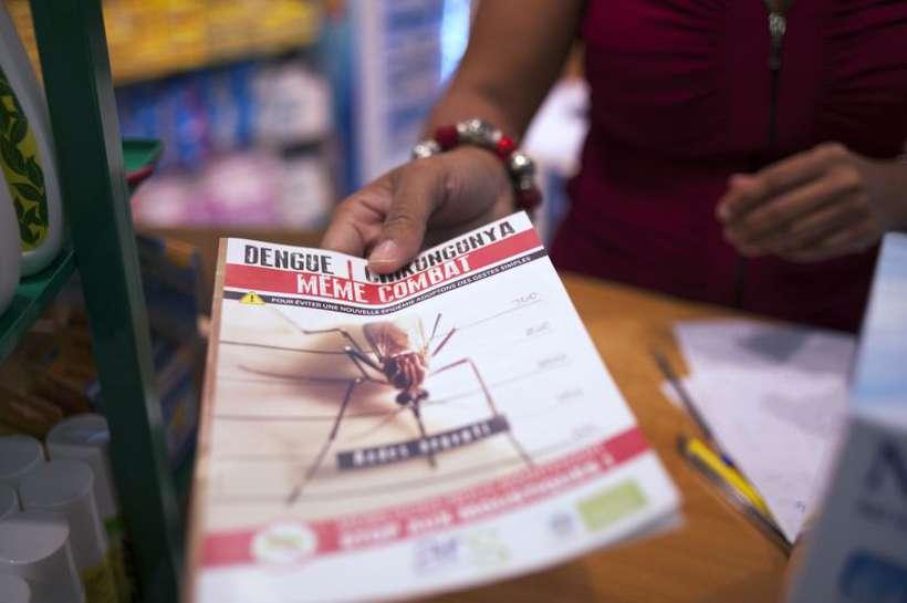 A falta de vacinas faz com que o combate ao vírus transmitido pelo Aedes aegypti ocorra apenas com medidas de prevenção. Foto: AFP PHOTO / NICOLAS DERNE
