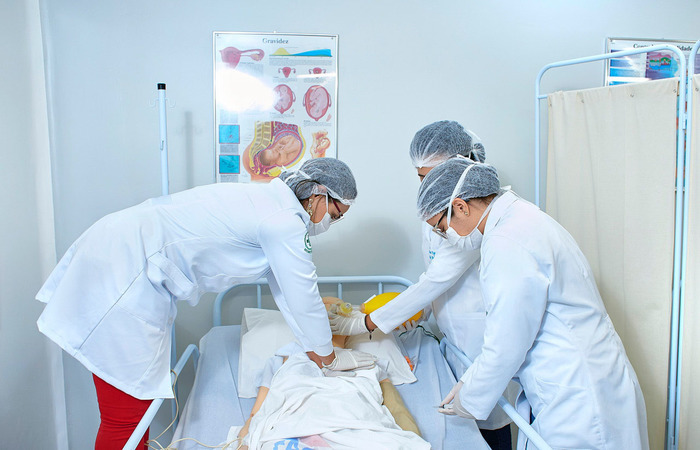 Metodologia inclui atuação com saúde da família. Foto: UniFits/Divulgação