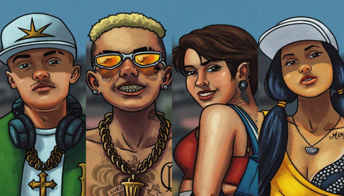 Além do visual, os personagens tiveram seus nomes alterados. Foto: Arquivo Pessoal/Gabriel Jardim